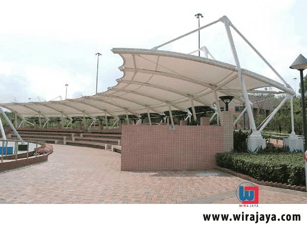 Jasa Pemasangan Canopy Membrane Jakarta