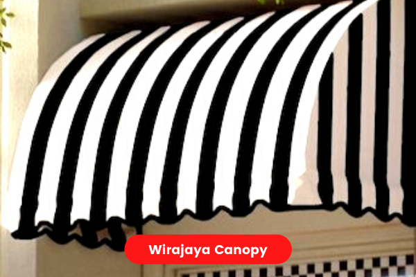 Contoh gambar canopy kain
