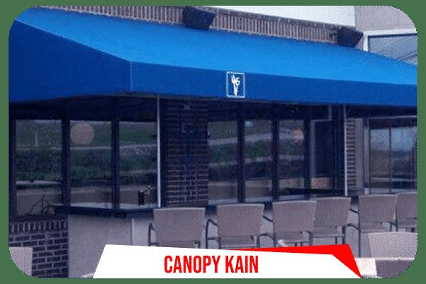 Pemasangan Canopy Kain