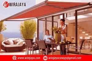 Harga Awning Gulung Per Meter Terbaru | Wira Jaya